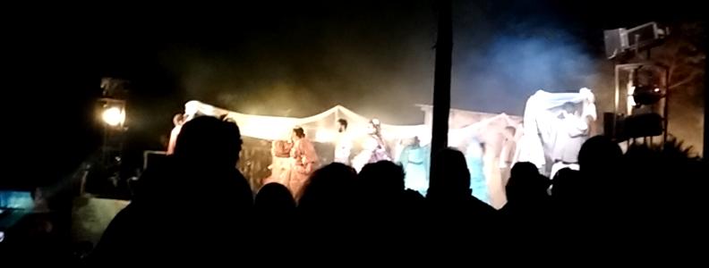 foto dello spettacolo di pretare