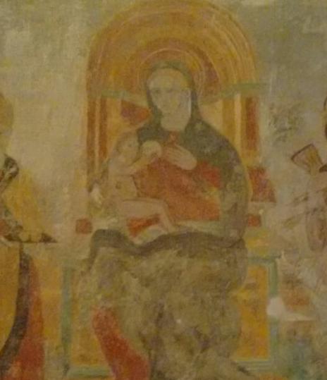 Madonna del latte Abbazia di Fiastra