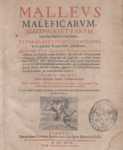copertina malleus maleficarum